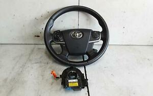 TOYOTA AURION STEERING WHEEL LEATHER, TOURING/PRODIGY TYPE, GSV50R, 02/12-08/17