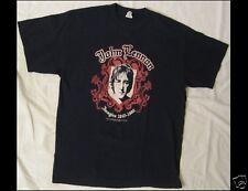 JOHN LENNON ( The Beatles ) Imagine 1940 - 1980 Size Large Blue T-Shirt