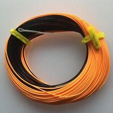 Fly Fishing Line Sink Tip WF7 High Vis Orange & Dark tip