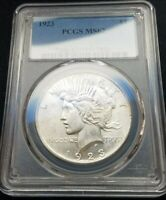 1923 Peace Dollar Choice Uncirculated, PCGS MS 6290% Silver. Must look.