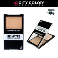 CITY COLOR Be Matte Mineral Blot Powder - Buy 2 Get 1 Free - FREE US SHIPPING