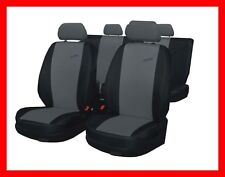 XR  Racing Sport Tuning  Car seat covers  full set universal covers   black-grey