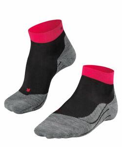 Falke RU4 SHORT Damen Running Socken, Black