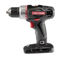 "NEW Craftsman C3 19.2V Lithium Ion Cordless 1/2"" Drill / Driver 5275.1 Bare Tool"