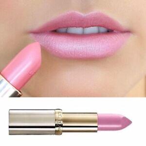 L'Oreal Pale Pink Lipstick Shimmer Color Riche 404 Prismatic Pink