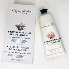 Crabtree Evelyn Caribbean Island WildFlowers Hand Therapy Ultra-Moisturizing