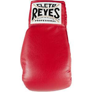 Cleto Reyes Standard Collectible Autograph Boxing Glove - Red