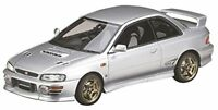 MARK43 1/43 Subaru Impreza WRX Type R Sti Ver.1997 (GC8) Silver Resin Model