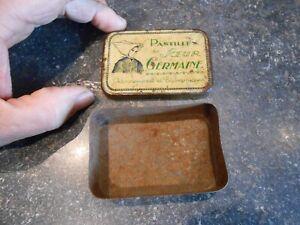 Ancienne Boite Fer ou Tôle Remède Médicament  des Pastilles de Soeur Germaine