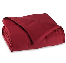 Wamsutta Dream Zone King Down Alternative Luxury Lightweight Blanket in Red