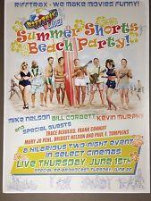 RiffTrax Live: Summer Shorts Beach Party Poster!