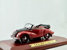 IFA F9 Cabrio  1950-1953  rot/schwarz    /    IXO/Atlas   1:43