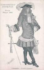 A290) TORINO 1902, CAROSELLO STORICO, CAVALIERI PIEMONTESI. ILLUSTRATORE CARAMBA