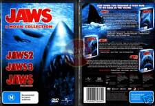 JAWS 2 3 & 4 =3 DVD Movie Collection= NEW & SEALED R4 (Region 4 Australia)