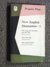 Penguin Play PL39 New English Dramatists 3 Willis Hall John Arden Harold Pinter