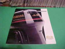 1994 YAMAHA SALTWATER SERIES OUTBOARDS MOTOR DEALER BOOKLET CATALOG