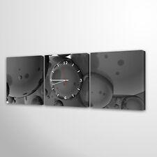Wanduhr Modernes Design Lautlos Wohnzimmer Leinwand Mehrteilig Uhr037