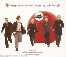 BOYZONE - When The Going Gets Tough (UK 3 Trk CD Single)