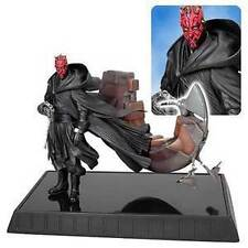 Star Wars: Gentle Giant: DARTH MAUL WITH BLOODFIN statue - RARE (sideshow/vader)