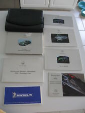 Mercedes 2000 E-Class Owners Manual Package
