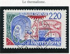 TIMBRE FRANCE OBLITERE N° 2556 LE THERMALISME / Photo non contractuelle