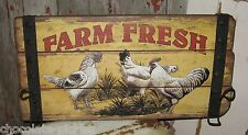 Rooster/Chicken/Hen Wall Hat/Coat RACK*Primitive/French Country Farmhouse Decor