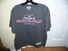 Philadelphia Phillies Baseball T-Shirt by Majestic Authentic Collection Size L