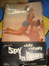 Old Vintage Bollywood Movie Theme Schedule Dairy from India 1968