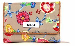 Oilily Classic Ivy S Wallet Geldbörse Geldbeutel Portemonnaie Grau Damen Neu