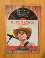 Dustin Lynch 2014 Panini Country Music Top of the Charts Silver Parallel #D /49