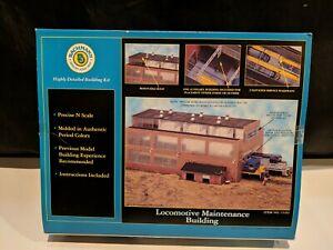 Bachmann N Scale Locomotive Maintenance Building Kit 15163