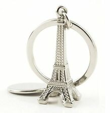 Romantic Silver Eiffel Tower Keychain Keyring Key Chain Ring Cute Gift ♫
