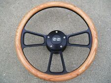 Chevy Camaro 1969 - 1994 Oak & Billet Steering Wheel, SS Horn & Adapter Kit
