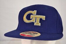 Georgia Tech Yellow Jackets Blue/Gold Baseball Cap Fitted 7
