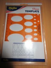 Helix Ellipse Template Stencil H82010 - 0352590* new sealed free postage