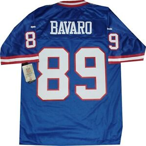 Mark Bavaro New York Giants Premier Reebok Blue 7072A Jersey New tags Medium