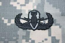 GENUINE US ARMY ISSUE PAINTBALL EOD EXPLOSIVE ORDNANCE DISPOSAL ACU CLOTH BADGE