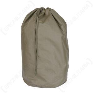 Original Swiss Duffel Duffle Kit Laundry Bag Army Water Resistant - Olive Green
