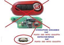 Interruttore pulsante ricambio chiave telecomando FIAT GRANDE PUNTO EVO 500 MITO