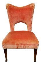 Small Armchair Chair Design Italian 60's Zoncada Gio Ponti Dassi Buffa