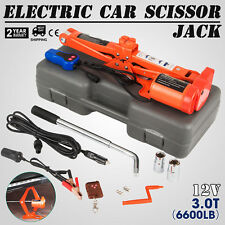 3 Ton Automotive Electric Scissor Car Jack Lift 120-450mm Power Comie WHOLESALE