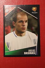 Panini EURO 2004 N. 44 HELLAS BASINAS NEW With BLACK BACK TOPMINT!!