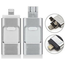 128GB i Flash External Memory Stick USB Drive U Disk For Android IOS/iPad iPhone