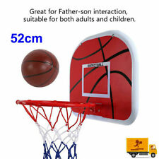 Mini Basketball Hoop System Kids Goal Over Door Out/Indoor Sports with Ball&pump