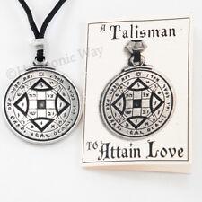 VENUS Necklace Talisman ATTAIN LOVE PENTACLE Pendant Magic Solomon Seal Amulet