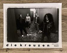 Rare Promo Photo WISCONSIN POST PUNK LEGENDS DIE KREUZEN on Touch & Go Records