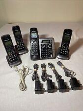 Panasonic KX-TG7641 Cordless Bluetooth 6.0 Answer Machine with 4 Handsets & Base