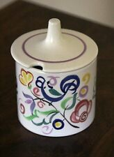 Poole Pottery LE Pattern Preserve Jar and Lid