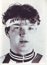 CYCLISME carte photo RONNIE ONGHENAE équipe SKIL 1985  format 17,5 x 12,5 cm