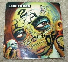 "MUNK ONE Sticker 2.75"" TATTOO FACE from poster print Invisible Industries"